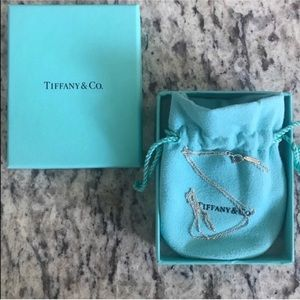Authentic New Tiffany & Co. Silver Necklace in Box